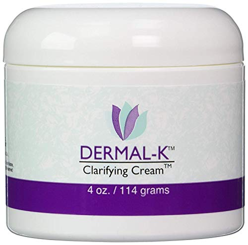Dermal-K Vitamin K Cream 4 Ounces | Best Formula For Skin Eye Cream Treatment | Prevent Scars Facial Dark Spots Bruises and Veins
