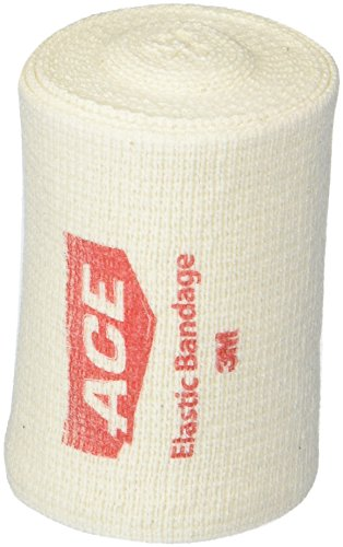 ACE Elastic Bandage with Hook Closure, 3' (Pack of 2)