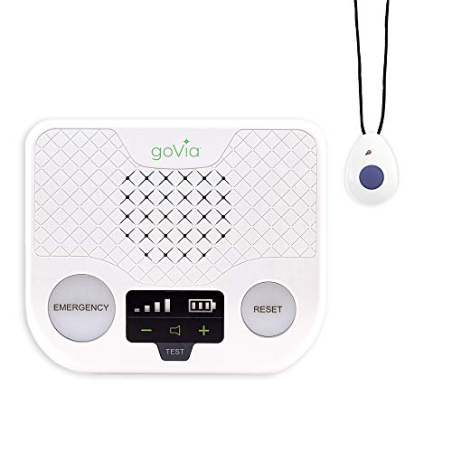 BLACK+DECKER goVia Home Wireless Medical Alert System, Monitoring System, Alert Necklace and Alert Button (with Fall Detection)