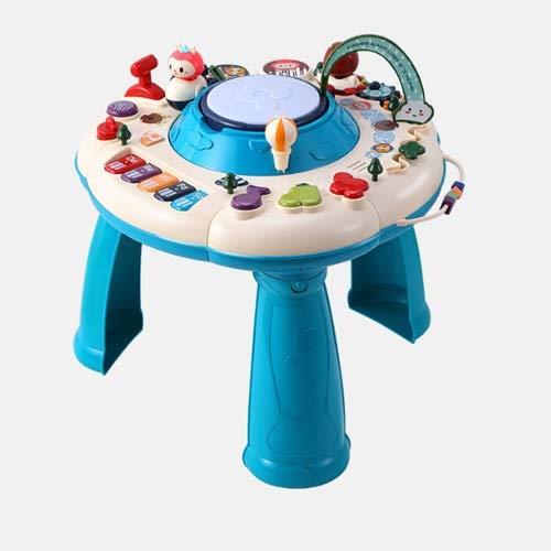 Lihgfw 15-in-1-Lerntisch, Kindermultifunktionale Frühkinder-Spieltisch, pädagogisches Babyspielzeugtisch, EIN Kleinkind-Baby-Simulation Flughafen-Umfeld, Leichter Luxus- und Tallspielzeug