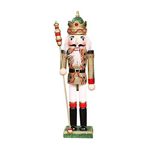 Saicowordist Decoracin de marionetas de Navidad Decoracin de regalo Cascanueces Decoracin de escritorio (Multi)