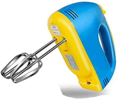 CattleBie Máquinas de Pan, Huevo Beater- eléctricos batidora de Mano -Handheld Mezcladores Pilas con Archivos adjuntos Ganchos