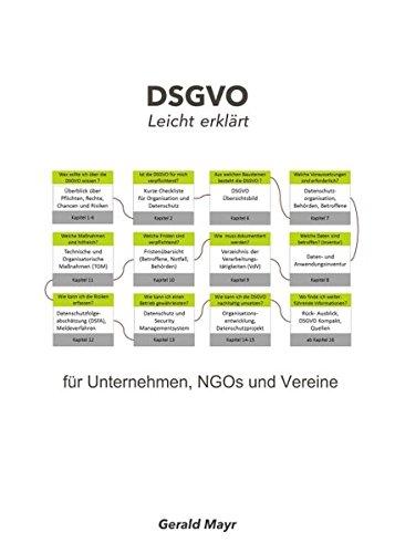 DSGVO leicht erklärt: für Unternehmen, NGOs und Vereine
