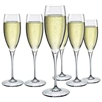 Bormioli Rocco 170061BF9021990 Champagne Glass, Pack of 6
