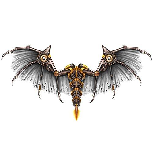 HNLSKJ Disfraz de ala de Dragn de Halloween, Vestir de Carnaval Realista alas de dragn for Disfraces de Cosplay de Disfraces ggsm (Color : Siliver)