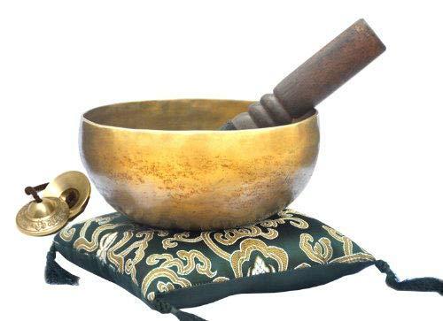 6&Quot; Superb B Crown Chakra Old Tibetan Singing Bowl, Meditation Bowls,Hand Beaten Singing Bowl, Handmade Bowl From Nepal,Singing Bowls.