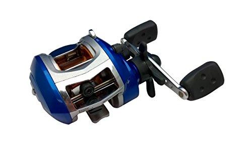 ABU GARCIA Ambassadeur Blue MAX LH - Carrete de Pesca, Color Azul Talla:Blue MAX