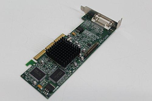 Matrox G45FMLDVA32DB Millenium G450 32MB Grafikkarte AGP DVI Low Profile