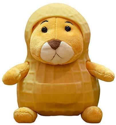 LINQ Plüsch Spielzeug 12 cm Nette Erdnuss Ratte Puppe Maus Weiche Spielzeug Kinder Gefüllte Spielzeug Japanische Anime Erdnuss Hulled Ratte Plüschtier Lustige Geburtstagsgeschenk Qianmianyuan