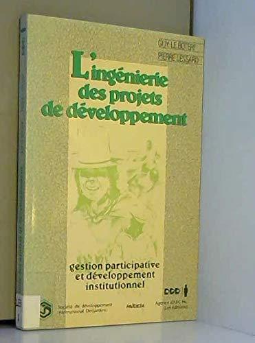 L'ingénierie des projets de développement