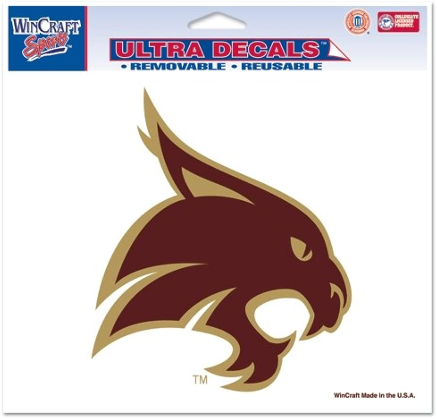 NCAA Multi-Use colord Decal, 71536091, 5  x 6