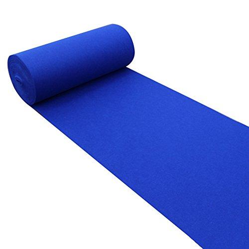 Alfombras De Pasillo Largo Entrada Felpudos Alfombra Boda Azul Suministros De Boda Festival Alfombra De Rollo Desechable, 160 G/M², Espesor 2 Mm, 6 Tamaños Opcionales 11