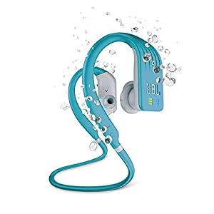 JBL Endurance Dive Waterproof Wireless In-Ear Sports Headphones with Built-in Mp3 Player (Teal)