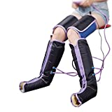 Compresión de aire Masaje en las piernas Circulación eléctrica Las piernas envuelven el masajeador de mano para la terapia del tobillo del pie(EU)