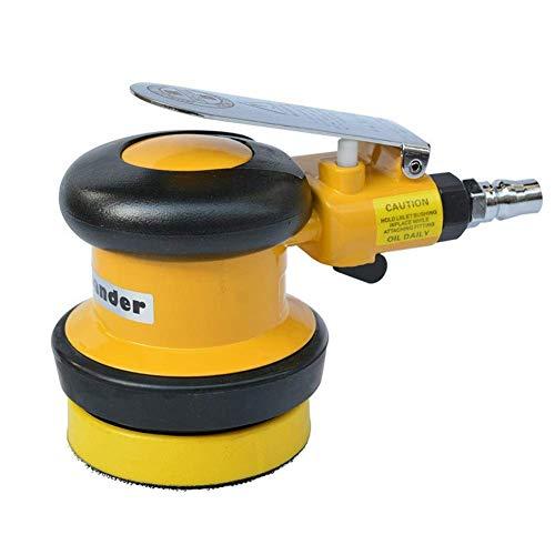 MOZUSA Practica portátil 75mm neumáticas Sander, de 3 Pulgadas de Disco neumático Pulidora, de Mano-Herramientas Papel de Lija de la máquina Industrial de Manos Herramientas
