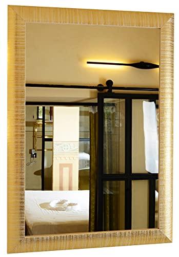 GaviaStore - Elise 70x50 cm - Miroir Mural Moderne Disponible en 3 Couleurs - ameublement Art déco Salon Mur Chambre Salle Bain Cuisine entrée Décorat