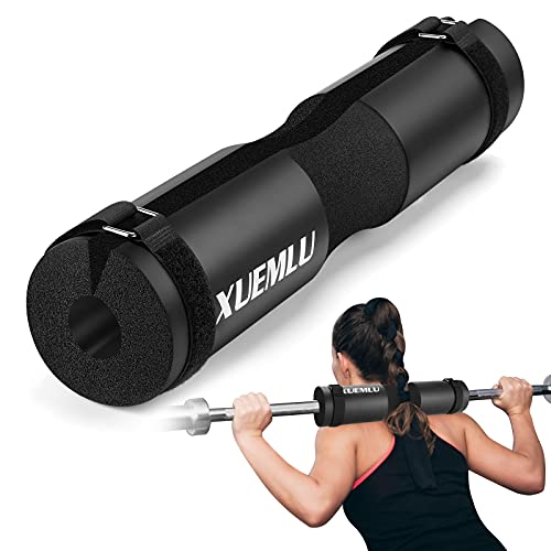 Barbell Pad Squat Pad for Squats, Lunges and Hip Thrusts - Foam Sponge Pad for Standard and Olympic Bars - Provides Relief to Neck and Shoulders While Training