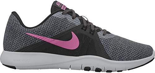 Nike Women's Flex Trainer 8 Cross (5 M US, Anthracite/Sunset Pulse/Black)