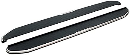 Compatible with Discovery 3 2004 to 2009 TVA Styling Side Steps OEM Anodised Aluminium Running Boards in Sapphire Black