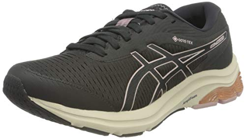 ASICS Damen Gel-Pulse 12 G-TX Road Running Shoe, Graphite Grey/Graphite Grey, 39.5 EU