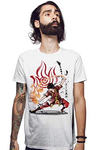 The Power of The Fire Nation Zuko Avatar The Last Airbender White T-Shirt