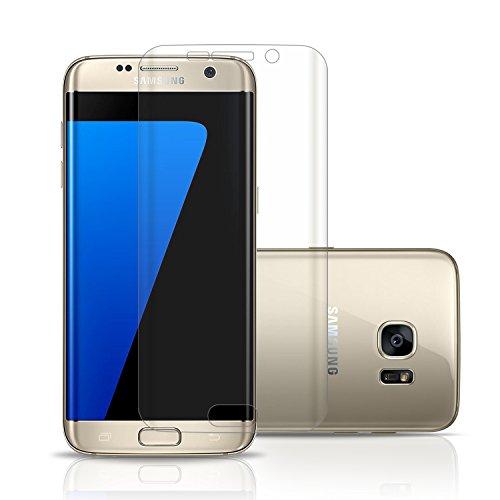 United Case Dünn Nano-Folie für Samsung Galaxy S7 Edge | Transparent Weich TPU Schutzfolie
