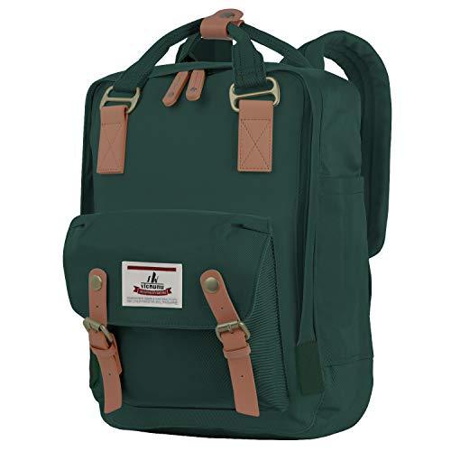 "vicnunu Backpack 14"" Waterproof Laptop Backpack for College & Student 15"" Vintage Travel Backpacks for Women & Men(DLB-7)"