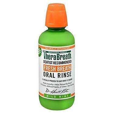TheraBreath Fresh Breath, Oral Rinse, Mild Mint, 16 fl oz (473 ml)