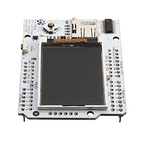 RONGW JKUNYU 1,8-Zoll-Farben-TFT-LCD-Erweiterungskarte mit Mikro-SD und Joystick Punkt Steuermodul Computer-Zubehör