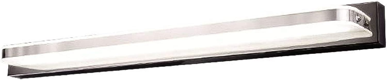 LED Modernes Eitelkeitslicht, Wasserdichtes IP44 Bad Innenbeleuchtung 4000k Kosmetikspiegel Toiletten Umkleideraum Kabinett Beleuchtungs Wand Licht Warmes 24.4inch 12W (Farbe   Warm-16.5inch 8W)