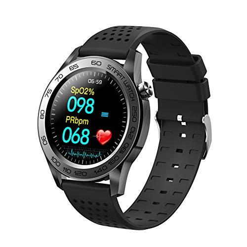 N \ A Pareja Smart Watch, Smart Watch para teléfonos Android iOS, 1.3'Relojes Bluetooth con Pantalla táctil, IP67 a Prueba de Agua, Reloj con Monitor de sueño, Parejas o Regalos navideños