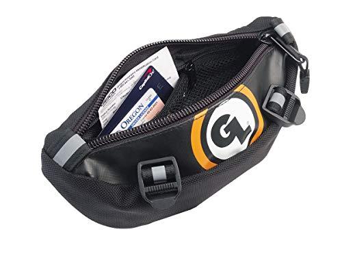 Giant Loop ZHB-Black Zigzag Handlebar Bag - 1.5 Liter Capacity, Black