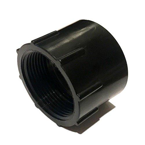Adaptateur pour pompe de bassin en plastique ABS avec filetage IG NPT 1,5\