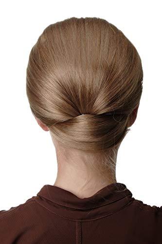 WIG ME UP - Q399BOBO-15 extension chignon très large mi-perruque tradition classique années 50 60 blond foncé