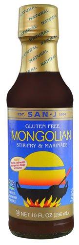 San-J Gluten Free Stir-Fry & Marinade Mongolian -- 10 fl oz - 2 pc