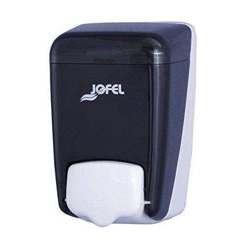 Jofel AC84000 Azur Dosificador de Jabón Rellenable, Fumé, 0.4 L