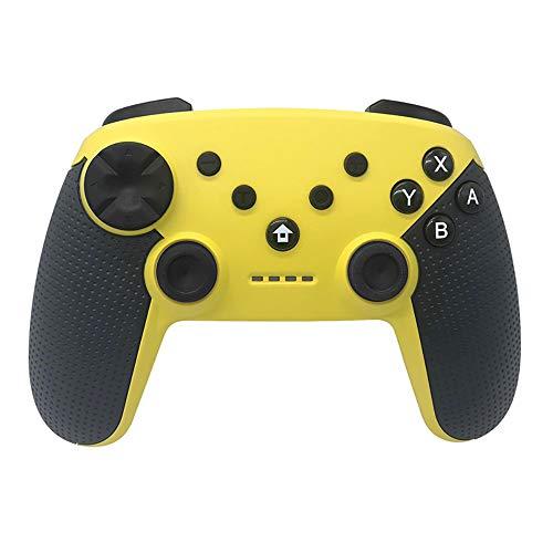 HXwsa Controller - Controlador inalámbrico Pro para Nintendo conmutador/Interruptor Remoto Lite Joypad Gamepad Soporte Ajustable Turbo, Choque Dual y el giroscopio del Eje,B