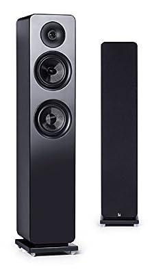 Roth Audio OLI RA3 5.25 inch 2 Way Pair Of Floor Standing Tower Speakers - Black by Roth Audio