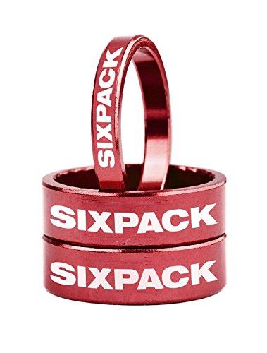 Rouge SixPack Racing Fond de Jante 26 559x25mm Mixte Adulte