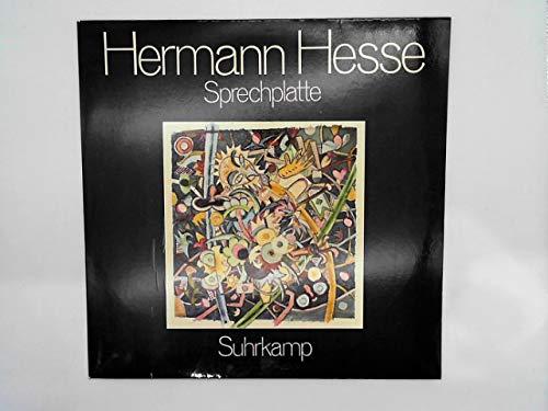 Hermann Hesse - Sprechplatte - Suhrkamp Verlag - 50/5907