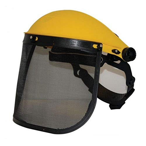 Silverline 140868 - Visor de protección con malla (Malla)