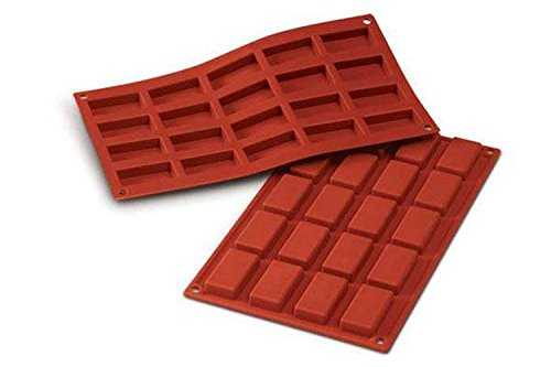 Silikomart 20.025.00.0060 SF 025 FINANZIERI - SILICONE MOULD 49X26 H 11 MM
