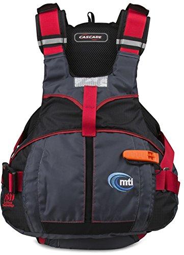 Buy Bargain MTI Adventurewear Cascade Life Jacket, Black/Red, Small/Medium