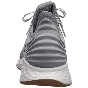 New Balance Men's Fresh Foam Roav V1 Sneaker, Gunmetal/Summer Fog, 9.5 M US