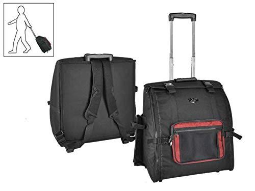 Steirische Harmonika CNB Harmonika Rucksack Trolley Tasche für 3-reihige