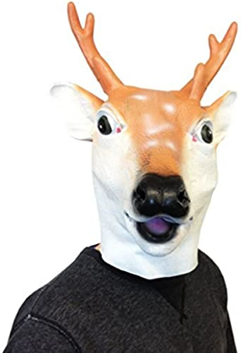 suministramos lo mejor Deluxe Deluxe Deluxe Latex Animal Mask Deer by Off the Wall Toys