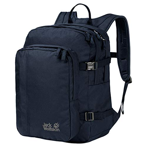 Jack Wolfskin Berkeley S Bequemer Daypack, Night Blue, ONE Size