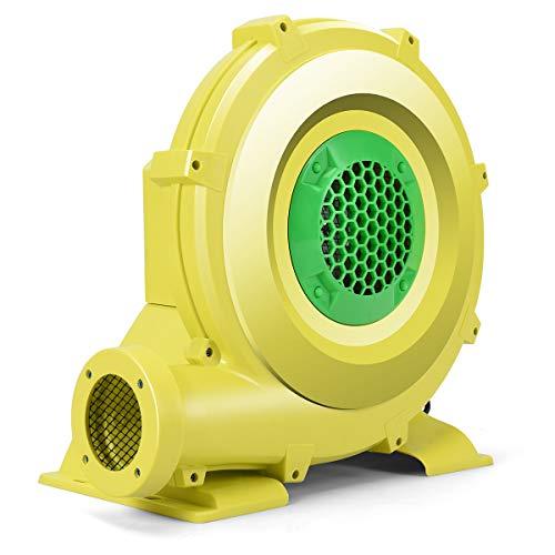 Costzon Air Blower, Pump Fan Commercial Inflatable Bouncer Blower, Perfect for Inflatable Bounce House, Jumper, Bouncy Castle (950 Watt 1.25HP)