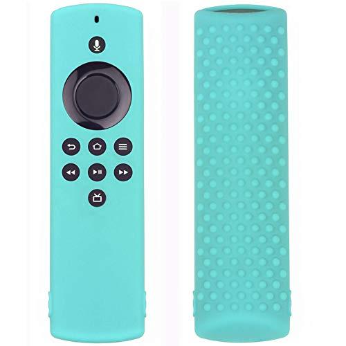 Funda de protección de silicona flexible para el mando a distancia Amazon Fire TV Stick Lite, funda de protección antigolpes, antideslizante, compatible con Amazon Fire TV Stick Lite, lavable