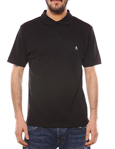 ORIGINAL PENGUIN Daddy Polo pour Homme - Noir - Large